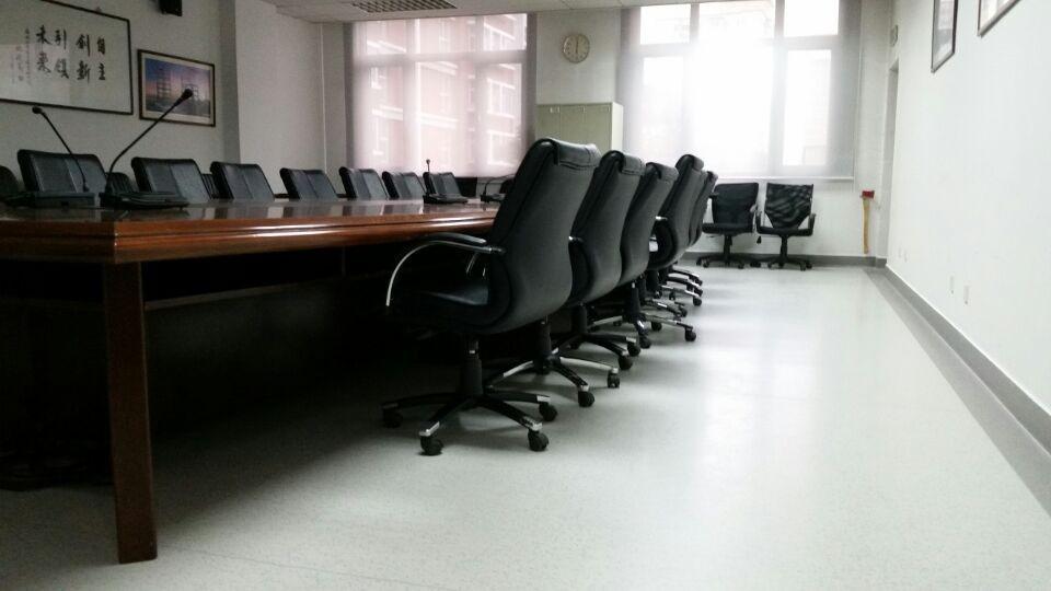 北京华亨大厦大巨龙pvc地板工程案例