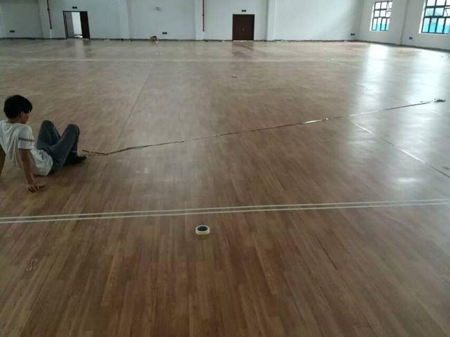 大巨龙木纹运动地板