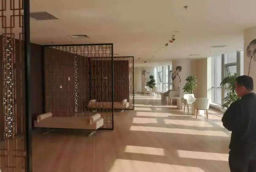 大巨龙木纹pvc地板产品案例