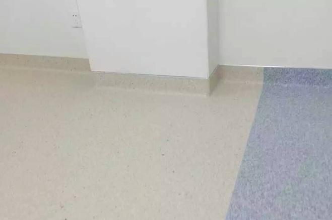 北京民航医院同质透心pvc地板案例